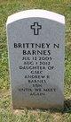 Profile photo:  Brittney N. Barnes