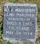 Profile photo:  Aline Marjorie Copeland