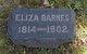 Eliza <I>Weirich</I> Barnes