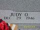 Judy <I>Oliphant</I> Wall