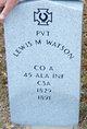Lewis M. Watson