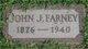 Profile photo:  John J Farney