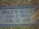 Profile photo:  Della <I>Strickland</I> Allen