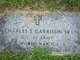 Profile photo:  Charles E. Garrison, Sr