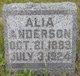 """Profile photo:  Alia Aagot """"Allie"""" Anderson"""