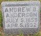 Profile photo:  Andrew B. Anderson