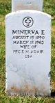 Minerva E Adair