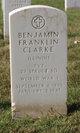 Profile photo:  Benjamin Franklin Clarke