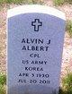 Profile photo:  Alvin J. Albert
