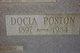 Profile photo:  Docia   <I>Poston</I> Abrams