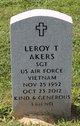 Profile photo:  Leroy T. Akers