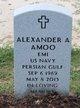 Profile photo:  Alexander A. Amoo