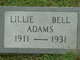 Lillie Bell Adams