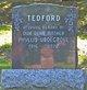 Phyllis <I>Ubdegrove</I> Tedford