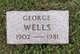 George Albert Wells