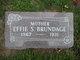 Effie Malinda <I>Smith</I> Brundage