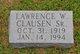 Lawrence W Clausen, Sr