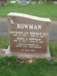 "Dorothy Elizabeth ""Doris"" <I>O'Neil</I> Bowman"