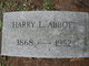 Profile photo:  Harry L. Abbott
