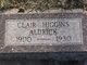 Profile photo:  Clair <I>Higgins</I> Aldrick
