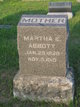 Martha E Abbott