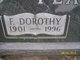 Florence Dorothy <I>Gault</I> Pearce