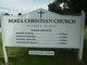 Berea Christian Church Cemetery