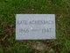 "Catherine Mary ""Kate"" <I>Semar</I> Achenbach"