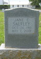 Catherine Elizabeth Jane Saufley
