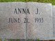 Profile photo:  Anna Jean <I>Mizell</I> Giddens