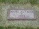 Profile photo:  Mary Altman