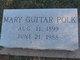 Profile photo:  Mary Elizabeth <I>Guitar</I> Polk