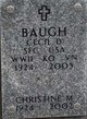 Profile photo:  Christine M Baugh