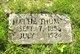 "Martha Ann ""Mattie"" <I>Whaley</I> Thomas"