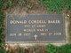 Profile photo:  Donald Cordell Baker