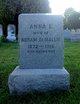 Profile photo: Mrs Anna E. <I>Hoganbaun</I> De Mallie