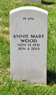 Profile photo:  Annie Mary Wood