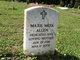 Maxie Richardson <I>Meek</I> Allen
