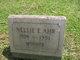 Profile photo:  Nellie E. <I>Pfieffer</I> Ahr
