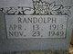 Profile photo:  T. Randolph Burdett
