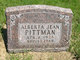 Profile photo:  Alberta Jean Pittman