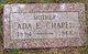 Profile photo:  Ada E. <I>Densen</I> Chapel
