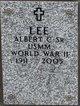 Profile photo:  Albert C Lee, Sr