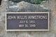 John Willis Armstrong, Sr