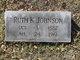 Ruth Katie <I>Smith</I> Johnson