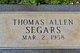 Thomas Allen Segars