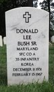 Donald Lee Bush Sr.