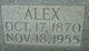 """Profile photo:  Henry Alexander """"Alex"""" Lawrence"""