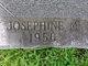Profile photo:  Josephine M Congilio