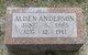 Profile photo:  Alden Anderson